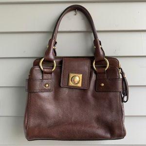 Vintage BANANA REPUBLIC Brown Leather Bag
